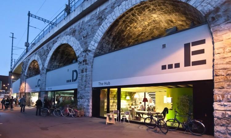 Die Geschäftsstelle von Mondopoly befindet sich im Impact Hub im Viaduktbogen E in Zürich.