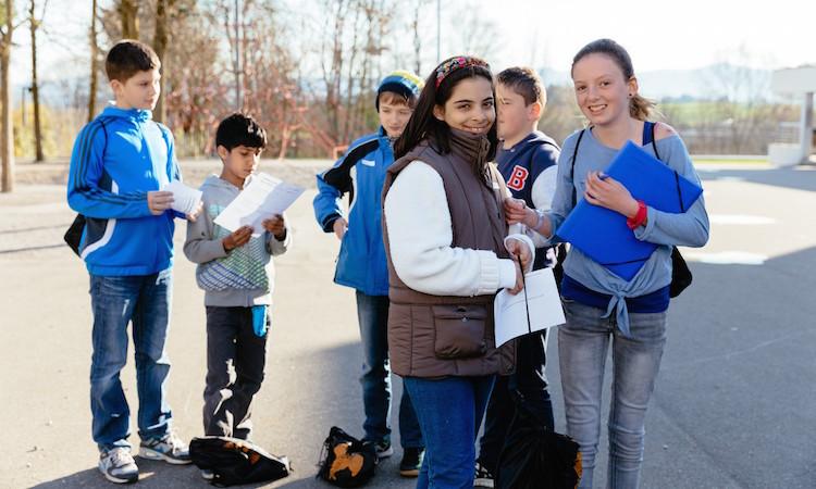 Im April 2015 fand das Pilotprojekt mit Schule&Kultur in Zürich und Oetwil am See statt.